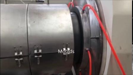Plastikhdpe Rohr des doppel-/einzelnes Extruder/Strangpresßling Belüftung-PET-PPR pp./Profil-Wasser-/Gas-/Drainage/Electric-Rohr-Zubehör-Herstellung, die Produktionszweig bildet