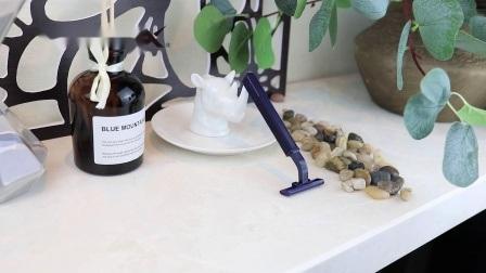 Двойной нож одноразовые бритвы с пластиковой ручкой (SL-3025L)