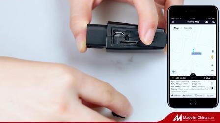 China fabrikant Vioneer OBD II voertuig GPS Tracker voor auto, bus, vrachtwagen met noodalarm