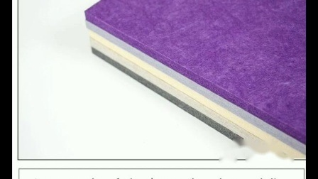 Polyester-Glasfaser-Tischleinwand für Büro