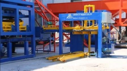 máquina para fazer blocos8-15 Qt na Jamaica do intertravamento que bloqueie a máquina