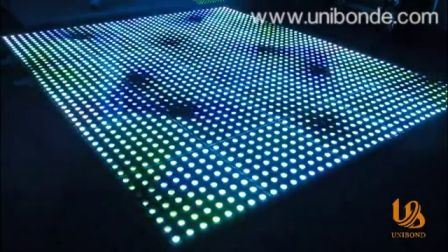 Drahtlose 3D Digital LED Tanzfläche Hochzeitsdekoration