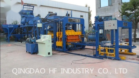 Qt10-15 entièrement automatique machine à briques machine à fabriquer des blocs de béton de ciment creux