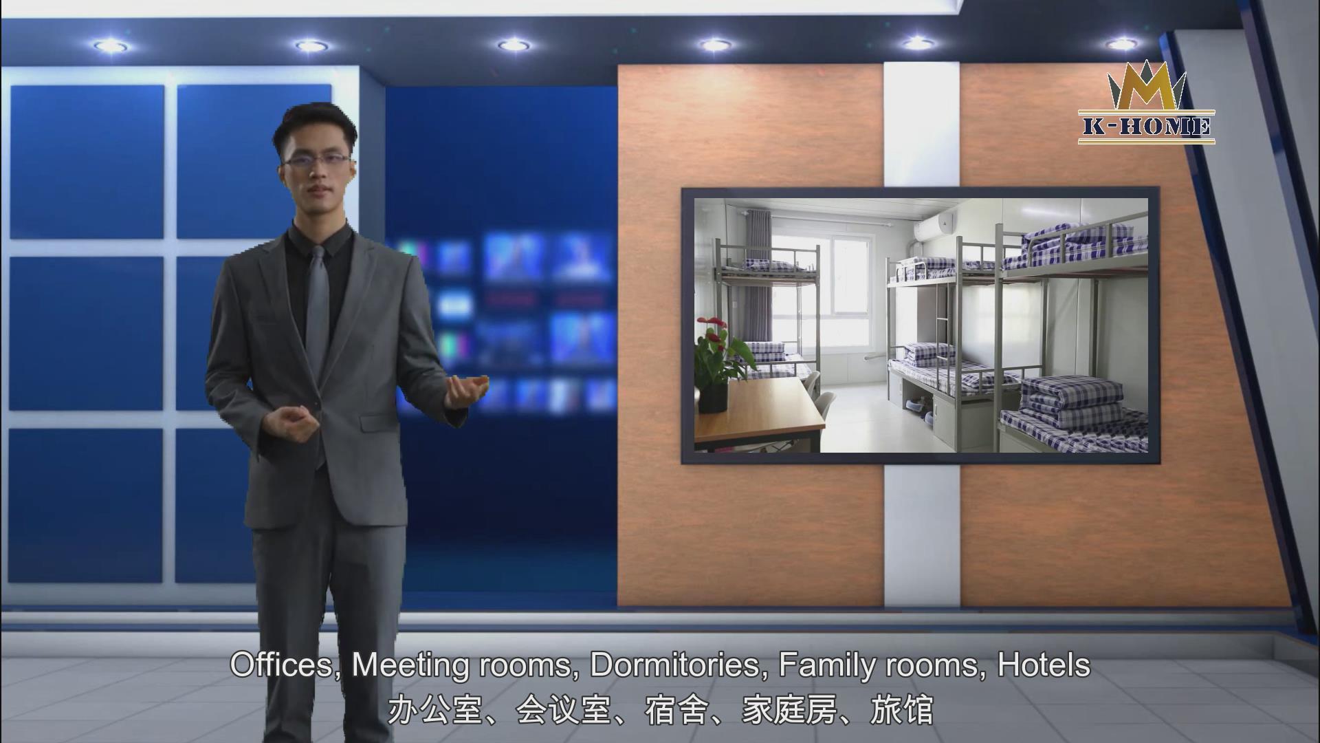 Pre diseñado los fabricantes de metal Metal edificio de oficinas