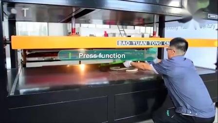 Bytcnc Multifunktions-Acryl ABS PP Tiefziehtiefe Vakuum bildende Maschine