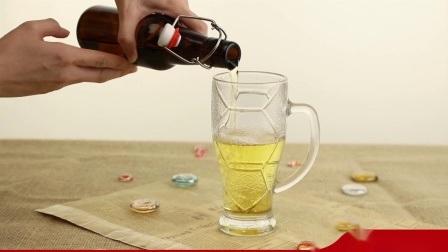 500ml en verre clair, le bouchon de bouteille de jus et l'impression disponible