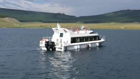 Круиз на катамаране пассажирского парома 1600/2000 из стекловолокна на лодке со стороны пассажира 16-20м