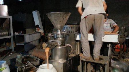 200 kg/h de amêndoa gergelim inoxidável Manteiga de amendoim esmerilhar a máquina da linha de produção