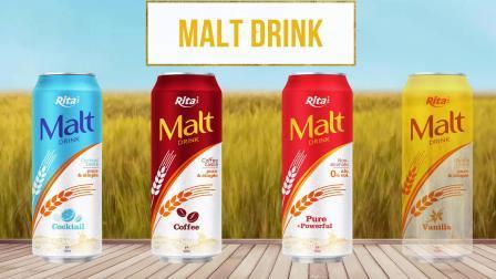 Vietnam bebidas enlatadas Drink-Accepted 330ml Malta OEM