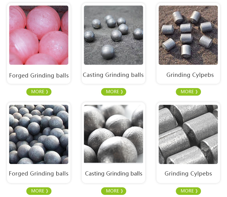 High Hardheid Chrome Casting Gringding Ball voor Cement