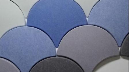 Hoher Standard in Qualität Pet Acoustic Paneele