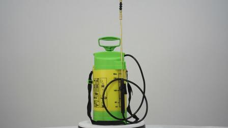 مرشة ضغط كتف منزلية زراعية سعة 5 لترات مع مقياس (SX-CS5C-A)