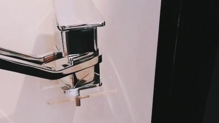 Rubinetti giranti del dispersore del miscelatore della cucina del bicromato di potassio del singolo della leva aeratore del quadrato