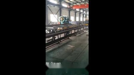 Linea di punzonatrici, marcatrici e tagliatrici CNC per acciaio angolare, acciaio piatto e acciaio a canale