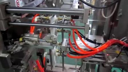 자동 로터리 사전 제작 파우치 주입구 마개 씰링 머신