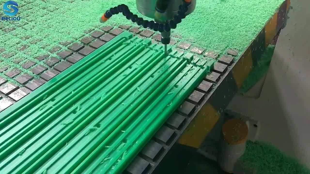 Parti in plastica personalizzate lavorate CNC UHMWPE Parts