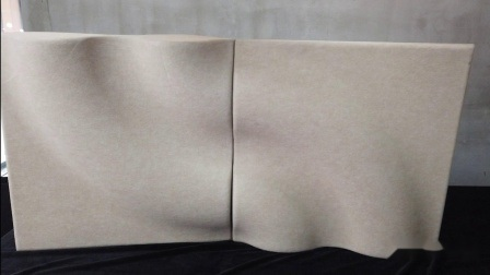 """""""Donut"""" Form 100% Polyester Faser Akustik-Panel von Mold"""