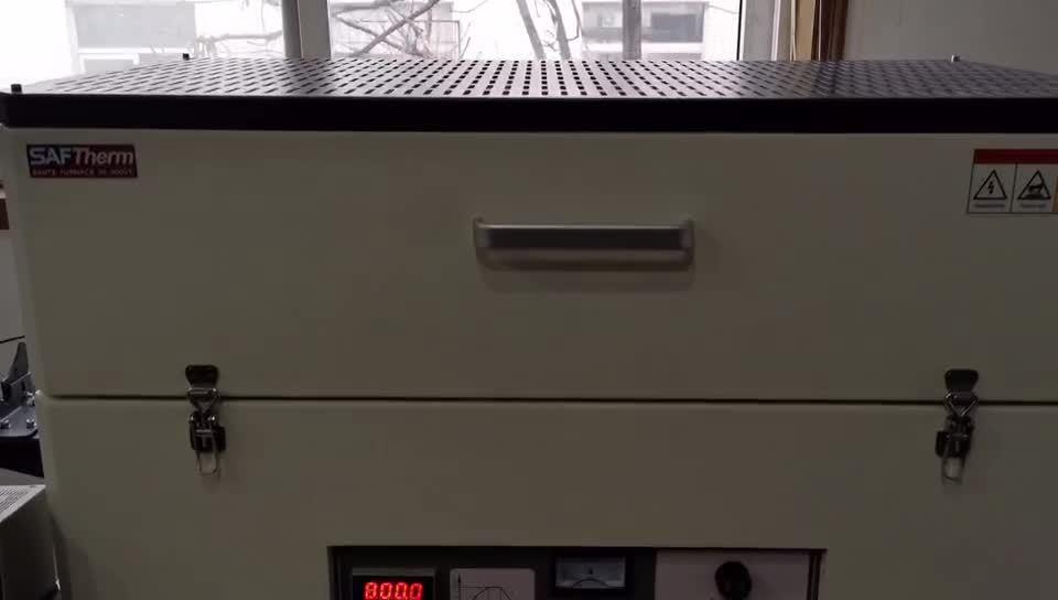ラボ用電気真空石英管炉