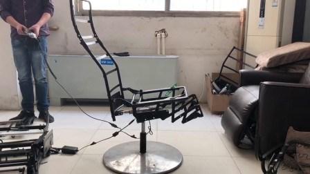 Mecanismo de silla giratoria de 360 grados con dos motores (ZH8362A-M)