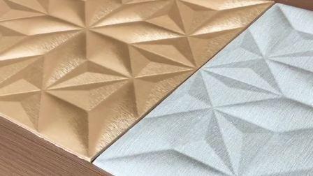 3D Wallpaper Leverancier, Interieur Muur Design, 3D leren wandpaneel