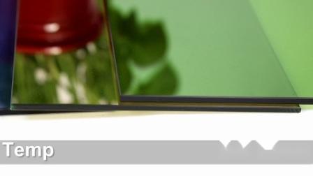 زجاج عضوي من طراز بريما 5+5 مم من الزجاج الواضح للإسكان