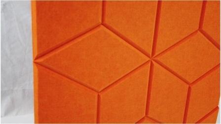 Carved Serie Customized Design Patterns Polyester Akustikpanel