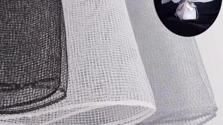 Déco standard Crystal Mesh pour la décoration de mariage