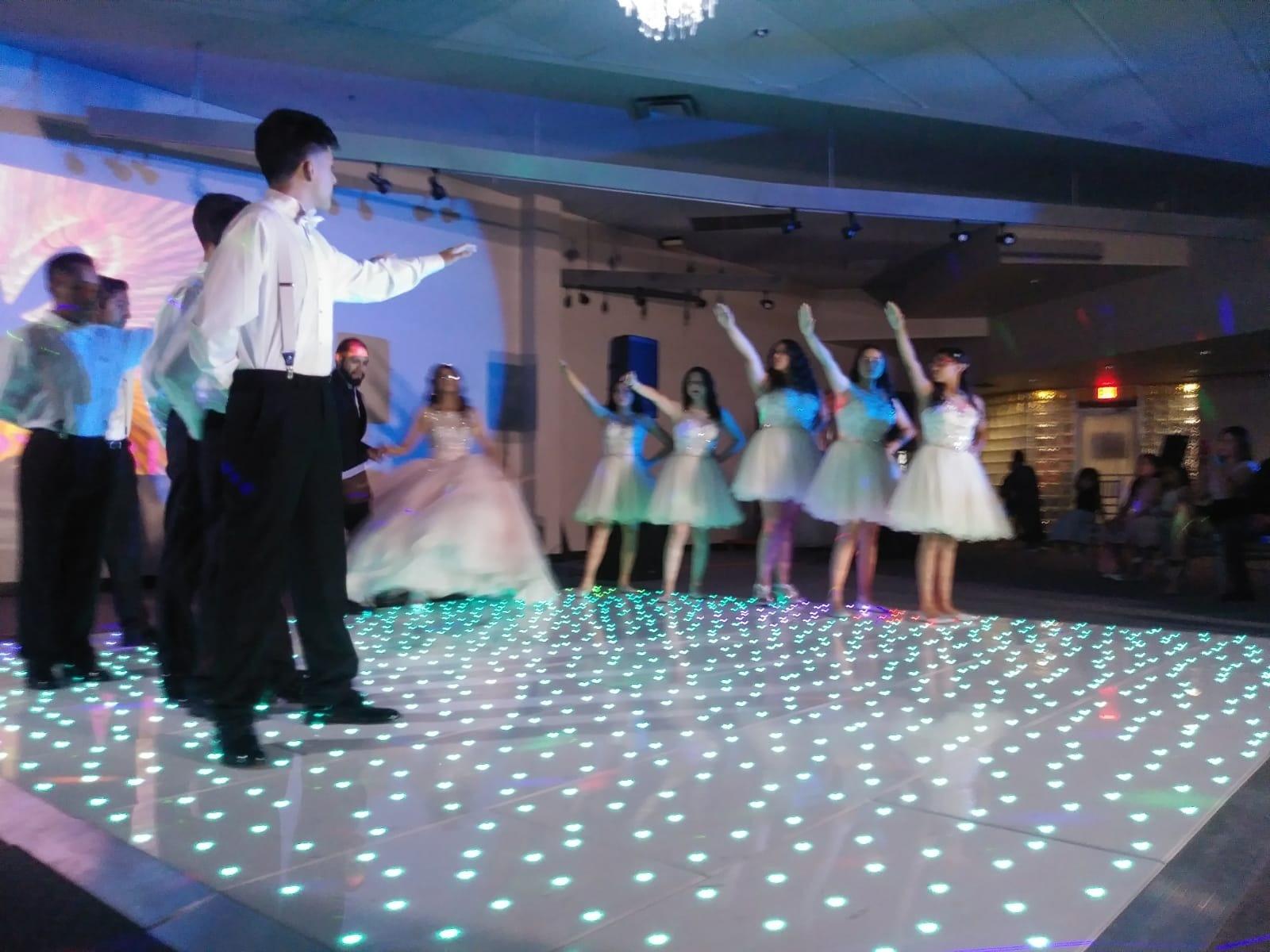 カーショー xxx ビデオ Xxxs の安い LED の星明かりのダンスの床 販売のため