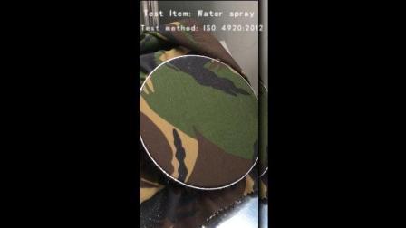 Anti-Infrared CVC Woodland camuflagem militar com tecido impermeável para os Países Baixos