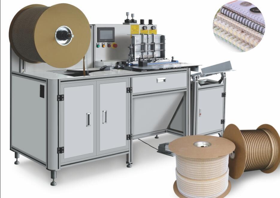 آلة ربط حلزونية سلكية ورقية CWH-520an