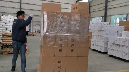 Ausdehnungs-Verpackung elastischer Plastik-PET Film mit dem ausgedehnten als Griff verwendet zu werden Kern,
