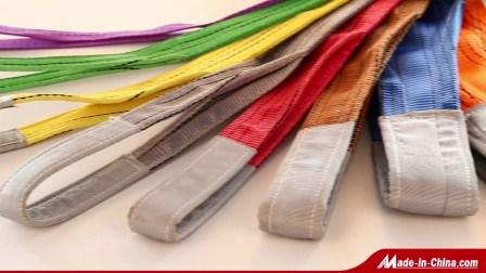12T Doppel-Flachhebeband-Sling aus Polyester