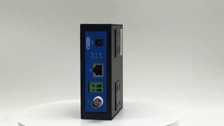Linha telefónica de longa distância da indústria ponte Ethernet 2000M de trabalhar com a Siemens S7-1200