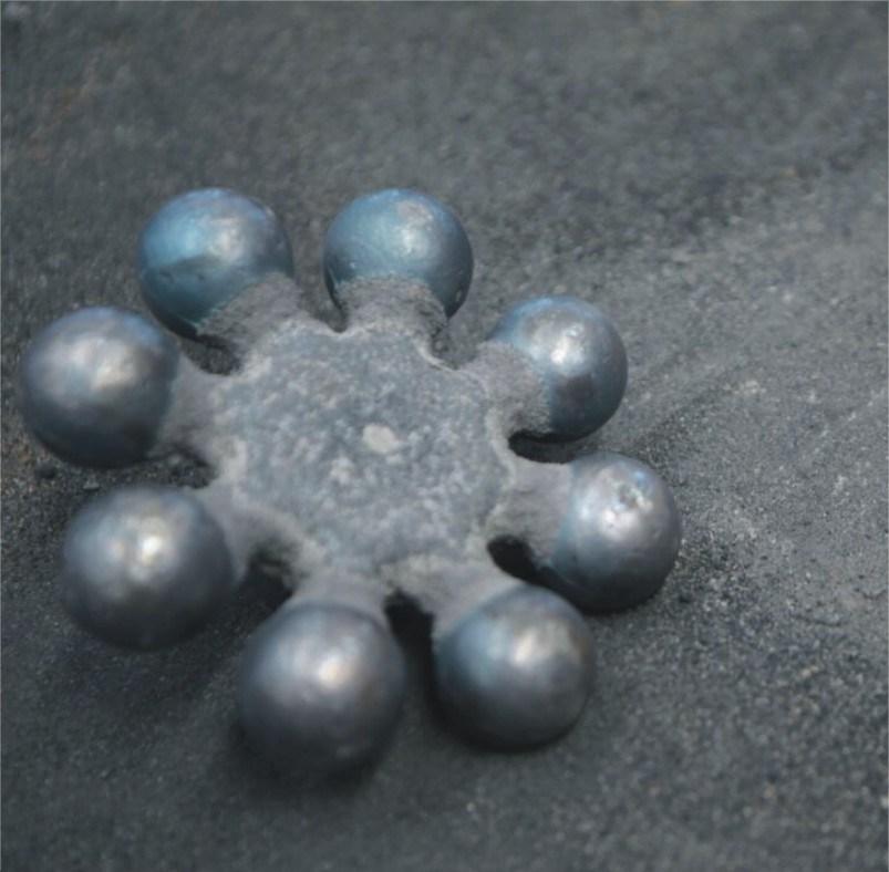 20 mm warmtebehandeling van gesmede stalen mediacalinten voor zilver Van mij