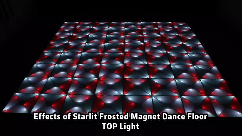 マグネットウェディングデザインホワイトデジタルダンスフロア