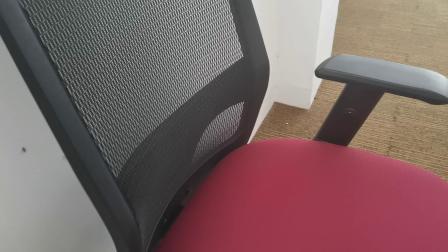 Retour moulé avec chaise de bureau exécutif de maillage