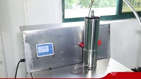 Pompa sommersa centrifuga alimentata a energia solare con girante in acciaio inox da 4 pollici