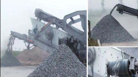 50-800tph piedra móvil planta de chancado, Trituradora móvil