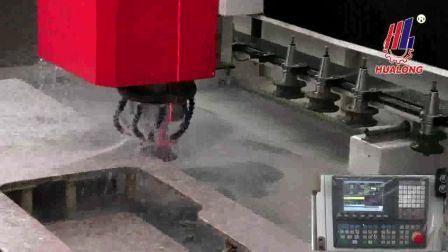 Centro de Processamento de pedra CNC moagem e polimento de borda para máquina de fazer em sua bancada