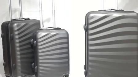 Viagem à prova de ABS/Candy Color/Venda Quente/Populares/moderno/Fashion/3PCS configurados/mala com 4 rodas/Saco de viagem/sala/sala
