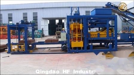 Qt10-15 bloquer la machine à glace Automatico ciment automatique concret brique Js750q l'usine de mélangeur de la Chine