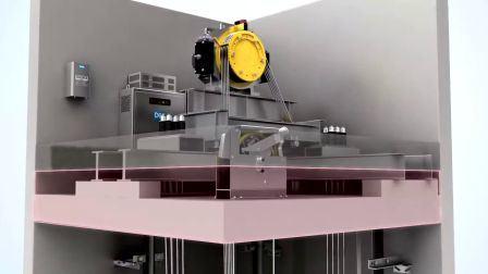 Geräuscharmer Hochwertiger Panorama-Aufzug