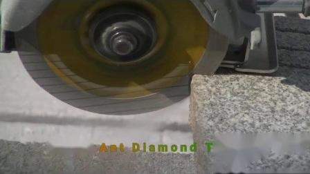 105 mm/ 114 mm Pierre lame de scie à diamant Turbo / Outil de découpe de diamants à des fins générales