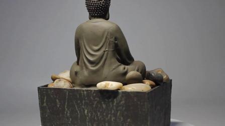 De naar maat gemaakte Mini BinnenFontein van het Water van Boedha van de Hars van Polyresin van de Kunst van het Decor van de Lijst van het Huis met Stenen