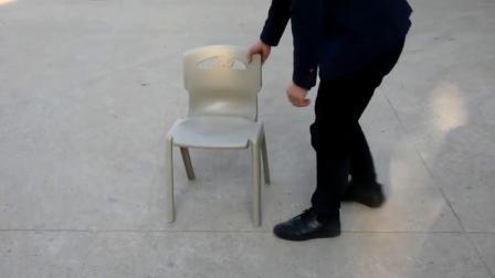 Les étudiants de la jambe de chaises de forme ovale avec l'écriture, Président du Conseil de l'école avec coussin comprimé