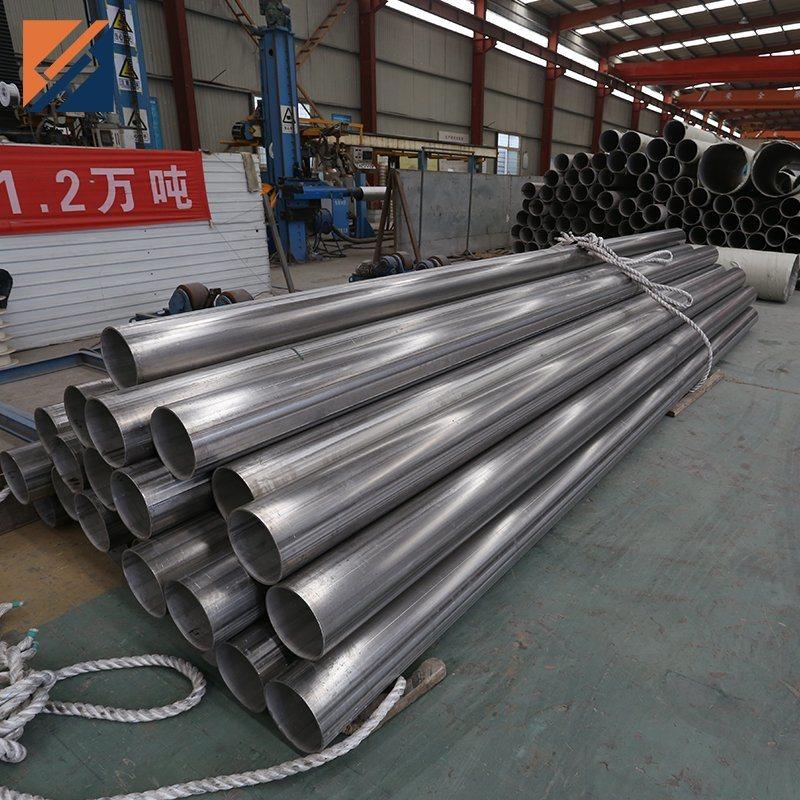 ASTM A554 201 304 304L 316L korrosionsbeständig rund poliert Nahtlos/geschweißter Edelstahl/API 5L A106 A53 Carbon/galvanisiert/rund/Vierkant/Stahl Rohrpreise
