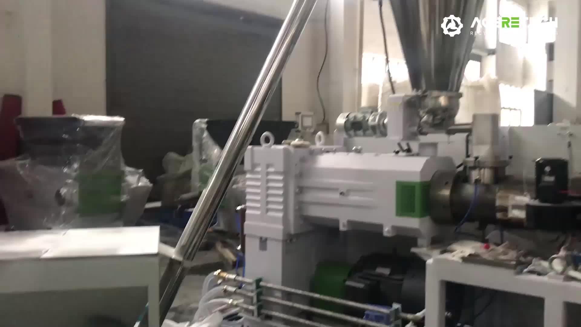 Günstige PP PVC automatische hohe Stabilität Einschnecken Co-Extruder