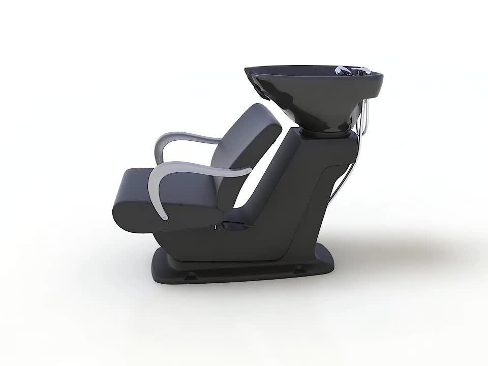 HL- 6014 Manufactory Commercio all'ingrosso Barbiere più conveniente Shampoo sedia capelli Lavamani