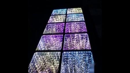 Miroir 3D les carreaux de plancher de danse étoilée LED pour voiture Show