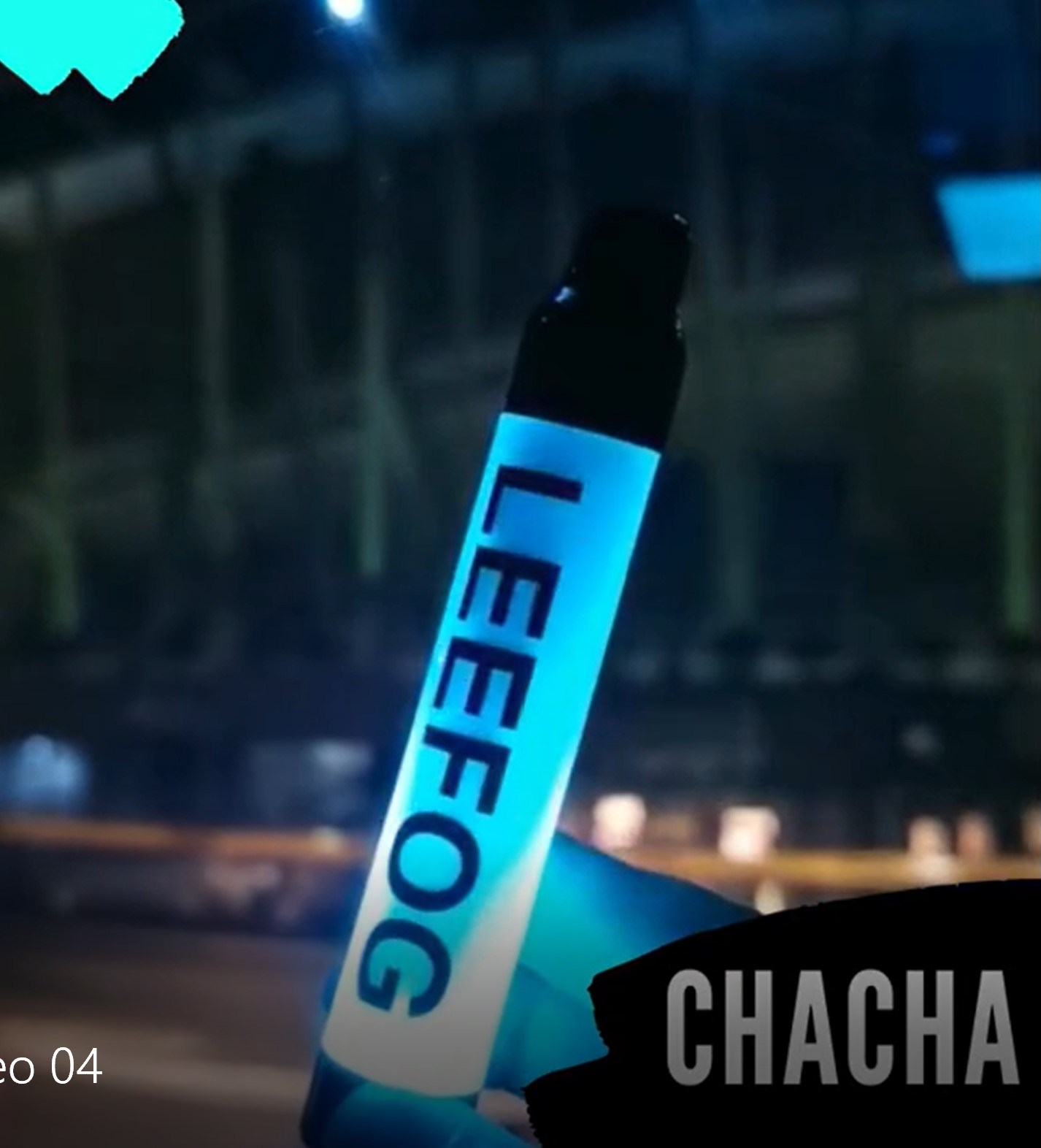 Leefog Chacha LED-Licht Leuchtende Glow wiederaufladbare E-Cig 2200 Puffs Elektronische Zigarette Cigarrillo Electronico ecig Großhandel E Zigarette Großhandel Vape